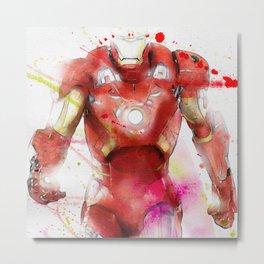 The Iron Hero Metal Print