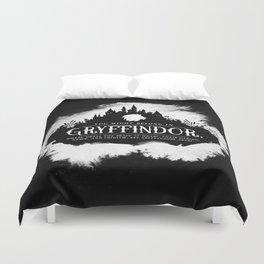 Gryffindor B&W Duvet Cover