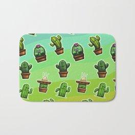 Cute Cactus Bath Mat