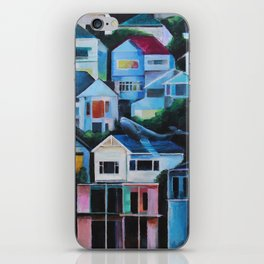 Whale in the City iPhone Skin