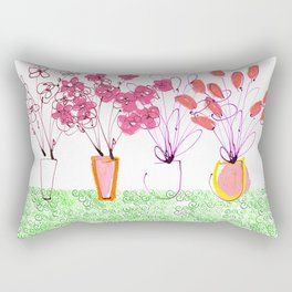 Flowers Galore Rectangular Pillow