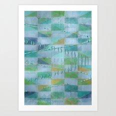 A Light Summer Rain Art Print