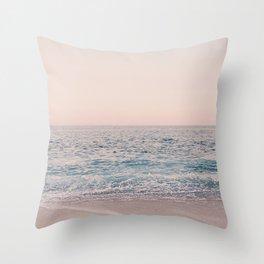 ROSEGOLD BEACH Throw Pillow