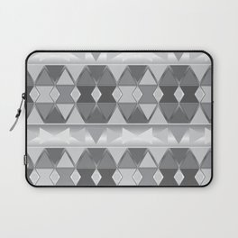 Gray triangle abstract Laptop Sleeve