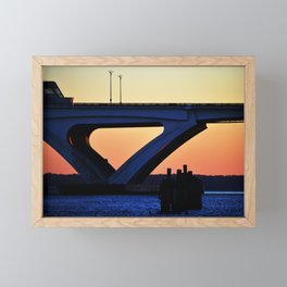 Connect the States Framed Mini Art Print