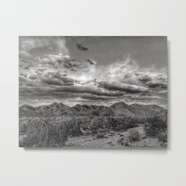 McDowell Mountians Metal Print