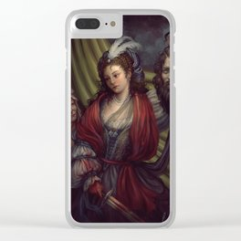 Judith Clear iPhone Case