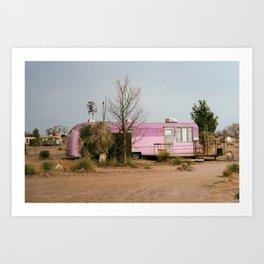 Purple Trailer Art Print