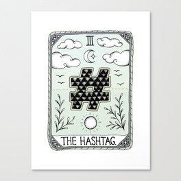 The Hashtag Canvas Print