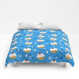 Sweet Hanukkah Treats Comforters