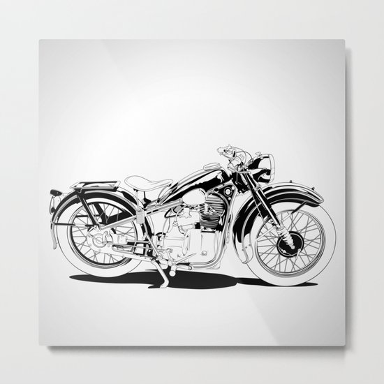 1937 Out Metal Print