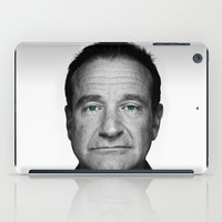 robin williams iPad Cases featuring Robin Williams by Ionic Slasher
