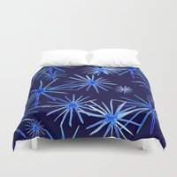 coconut wishes Duvet Covers featuring Wishes by Julia Hendrickson