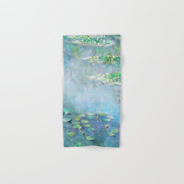 Monet Water Lilies / Nymphéas 1906 Hand & Bath Towel