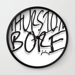 Thurston Bore Wall Clock