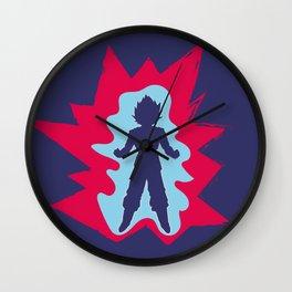 Super Saiyan Blue Kaioken Wall Clock