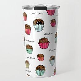 Brigadeiro-delicioso:) Travel Mug
