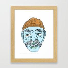 BEANIE GUY Framed Art Print