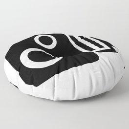 Isolated Speed Camera Floor Pillow