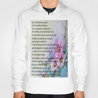 poem Hoodies featuring A Mother's Day Poem by Frankie Cat