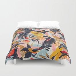 Paradise Birds II. Duvet Cover
