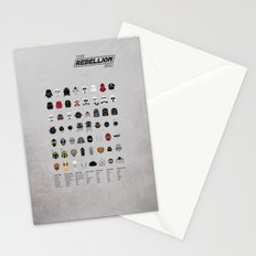 Star Wars: The Rebellion Era Stationery Cards