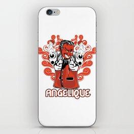 Angelique iPhone Skin