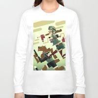 tank girl Long Sleeve T-shirts featuring Tank Girl by Gabriela Zurda