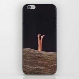 this is how i feel rn iPhone Skin