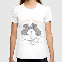 Mice In Love Valentine T-shirt