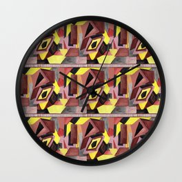 Figures Wall Clock