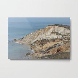 Aquinnah Cliffs Metal Print