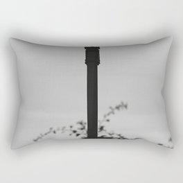 Surveillance Camera Monchrome Rectangular Pillow