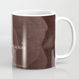 Letter and Rose II, brown edition Coffee Mug