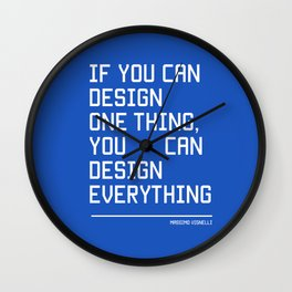 You can design everything Wall Clock