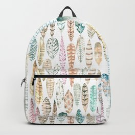 I See Feathers  Backpack