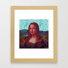 lajoconde Framed Art Print
