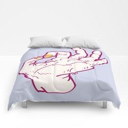 Ok hand Comforters
