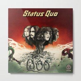 status quo band tour 2020 muncrat Metal Print