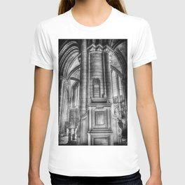 Pulpit in Black and White T-shirt