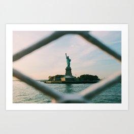 Sights Set on Liberty Art Print