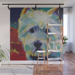 Buddy the Cairn Terrier Wall Mural