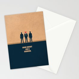 Lab No. 4 - Shine Bright Like A Diamond Corporate Startup Quotes Stationery Cards
