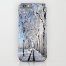 Winter-avenue iPhone Case