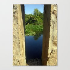 Framing a Pond Canvas Print