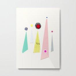 Abstract 001 Metal Print