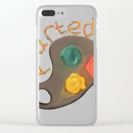 Art Student design I Arted Funny Pun Graduation Present Clear iPhone Case
