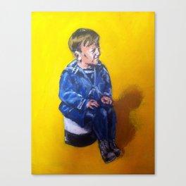 Little Sailor Canvas Print