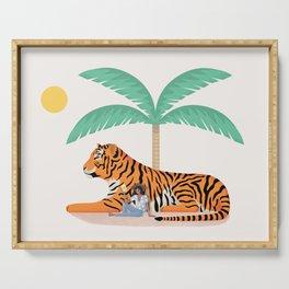 Tiger Paradise Serving Tray