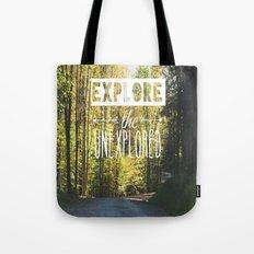 Explore the Unexplored Tote Bag
